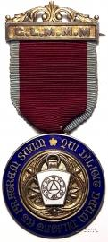 Знак STEWARD (Grand Lodge of Mark Master Mason).