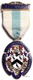 Знак MTGB 1991. STEWARD Masonic Trust for Girls and Boys.